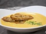 Лимонова крем супа