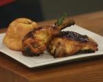 Пилешки бутчета по шотландски с йоркширски пудинг 6