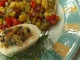 Зимна салата със зелен фасул и червен...