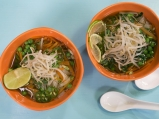 Азиатска зеленчукова супа