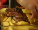Печено свинско с картофи 5