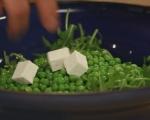Пролетна салата с биволско сирене 3