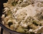 Броколи и карфиол на фурна 2