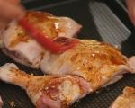 Пилешки бутчета с магданозено песто 2