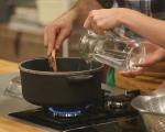 Постна крем супа от спанак и грах 3