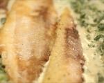 Риба със спаначен сос 5
