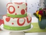 Празнична двуетажна торта