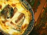 Скумрия в гювече с картофи