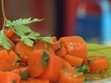 Салата от мариновани моркови