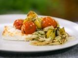 Картофи с чери домати на фурна