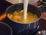 Супа от тиква със смокинови кенели 2