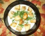 Крем супа от кисело мляко 4