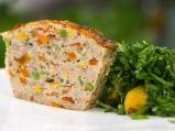 Терин от пилешко със зеленчуци