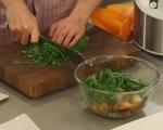 Терин от пилешко със зеленчуци 9
