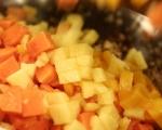 Свинско на грил с чътни от тропически плодове 7