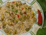 Ориз с бамя и тиквички