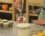 Млечно желе с цитруси и шоколад 7