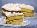Лесна торта с шипков мармалад