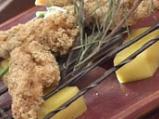 Панирани пилешки гърди на микровълнов...