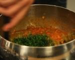Яхния от зелен фасул 5