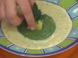 Крем супа от праз със спаначено пюре 6