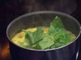 Рибена супа със спанак в азиатски стил 5