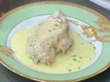 Пилешки гърди със спанак и извара