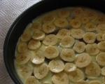 Бисквитена торта с ванилов крем и банан 3