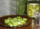 Салата със зелени домати