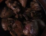 Пилешки дробчета в гювече 4