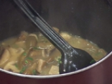Вегетарианска яхния от зелен фасул и печурки 5