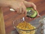 Картофени кюфтета със спанак с царевична салса 3
