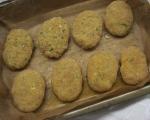 Картофени кюфтенца на фурна с печен лук и сос от печени червени пиперки 15