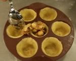 Тарталети с мед и ядки 8