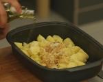 Картофи с чубрица и маслини 3