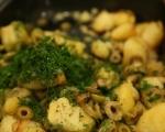 Картофи с чубрица и маслини 7