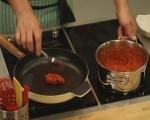 Спагети с песто от чушки 9