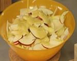 Салата от цикория с ябълки и орехи 5