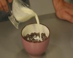 Шоколадова торта с тиква и карамелен крем 16