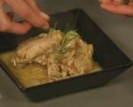 Пиле с естрагон и бяло вино 11