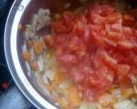Червена леща с моркови и лук 3