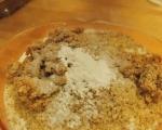 Кекс със сушени смокини, мед и орехи 5