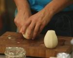 Круши със синьо сирене в точени кори