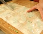 Круши със синьо сирене в точени кори 4