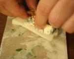 Круши със синьо сирене в точени кори 5