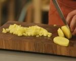 Баница с кайма и картофи 2