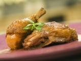 Пиле в медено-балсамов сос