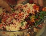 Кускус със зимни зеленчуци 4
