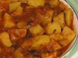 Яхния от картофи на микровълнова фурна