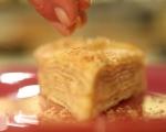 Лимоново-кокосова торта от палачинки 7